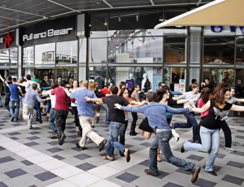 Flash Mob corporativo