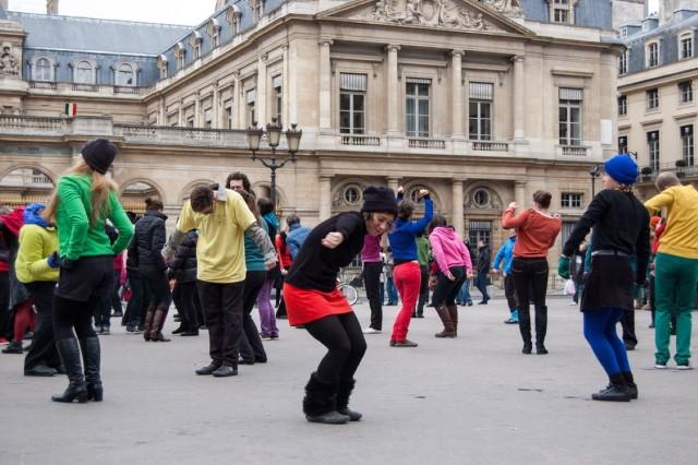 actividad flash mob corporativo